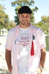 Max Adler at the Celebrity Walk 'n' Roll