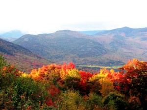 New Hampshire in autumn.