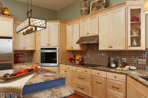 Marge Brchan's renovated kitchen