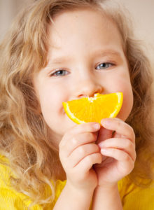 Orange Slice Smile