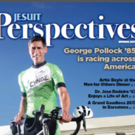 George Pollock on cover of Perspectives magazine