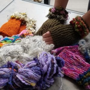 Selection of knit goods