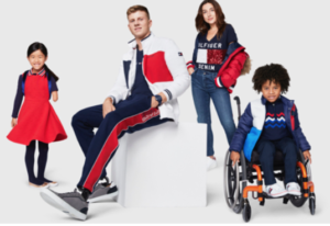 Tommy Hilfiger Adaptive fashion line.