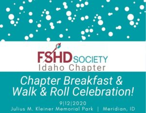 Idaho FSHD Chapter Pancakes in the Park
