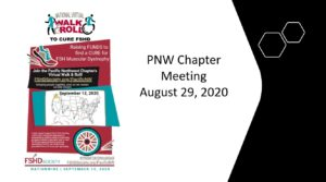 PNW August Chapter Mtng