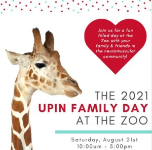 UPIN Family Day at the Zoo flyer